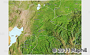 Satellite 3D Map of Sidama