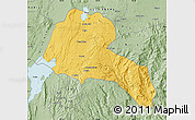 Savanna Style Map of Sidama