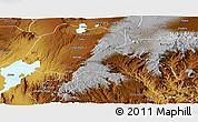 Physical Panoramic Map of Sidama