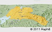 Savanna Style Panoramic Map of Sidama