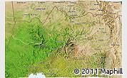 Satellite 3D Map of Tigray