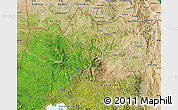 Satellite Map of Tigray