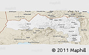 Classic Style Panoramic Map of Tigray