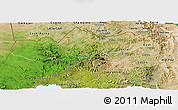 Satellite Panoramic Map of Tigray