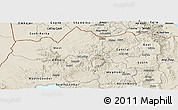 Shaded Relief Panoramic Map of Tigray