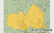 Savanna Style Map of West