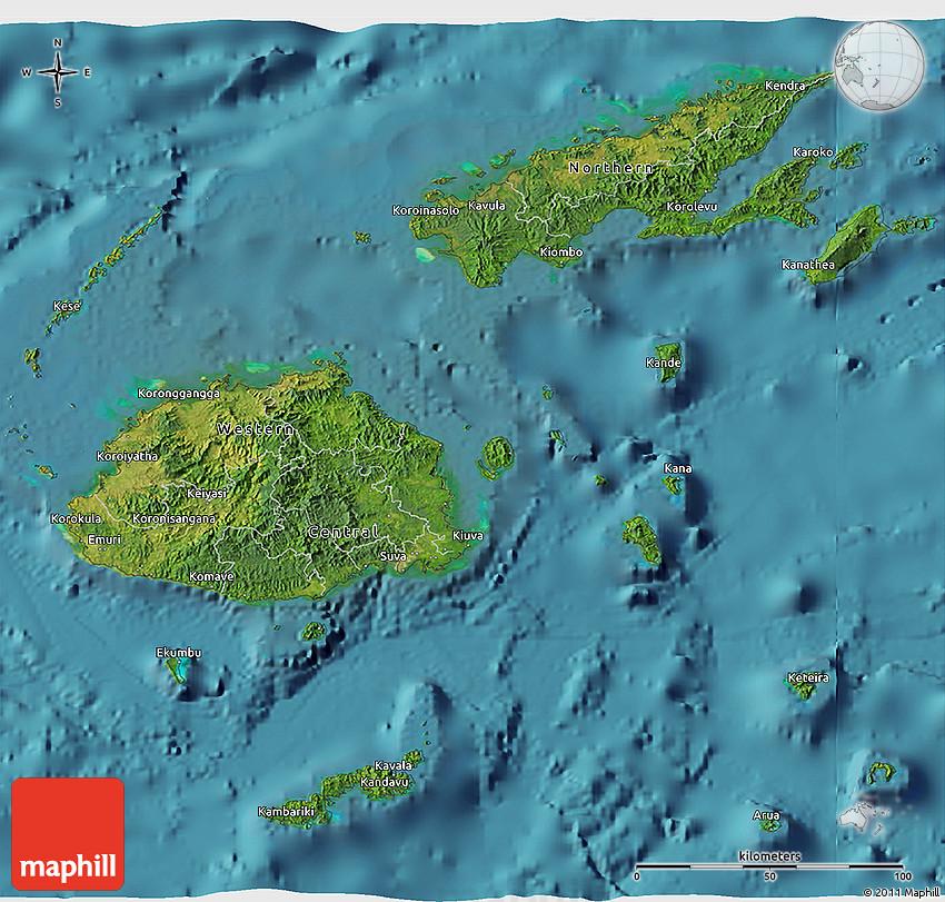 Satellite 3d map of fiji gumiabroncs Gallery
