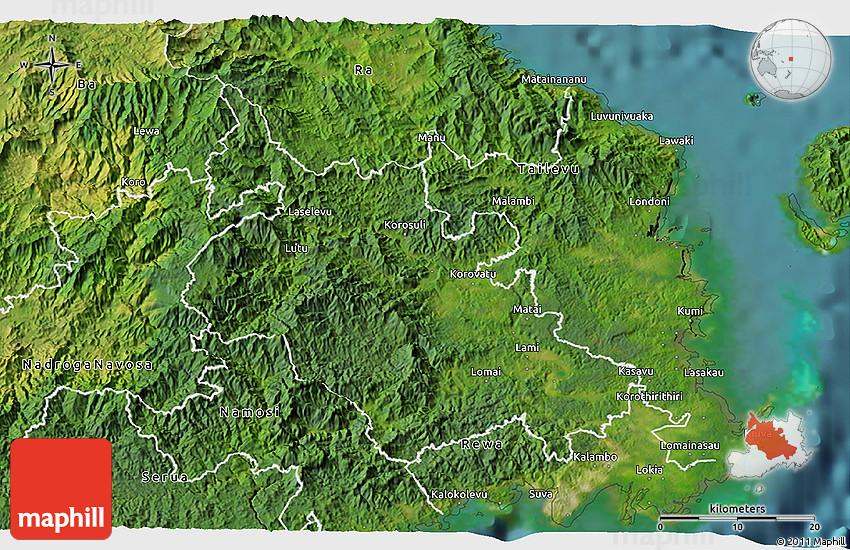 satellite 3d map of naitasiri