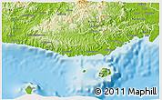 Physical 3D Map of Serua