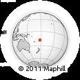 Outline Map of Serua