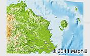 Physical 3D Map of Tailevu