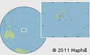 Savanna Style Location Map of Eastern