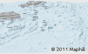 Gray Panoramic Map of Eastern
