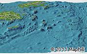 Satellite Panoramic Map of Eastern