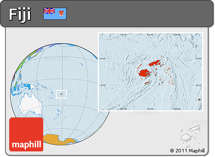 Free political location map of fiji highlighted continent highlighted continent political location map of fiji highlighted continent gumiabroncs Gallery