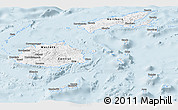 Classic Style Panoramic Map of Fiji