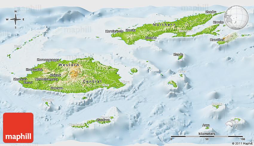 Physical panoramic map of fiji lighten gumiabroncs Gallery