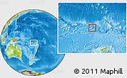 Physical Location Map of Rotuma
