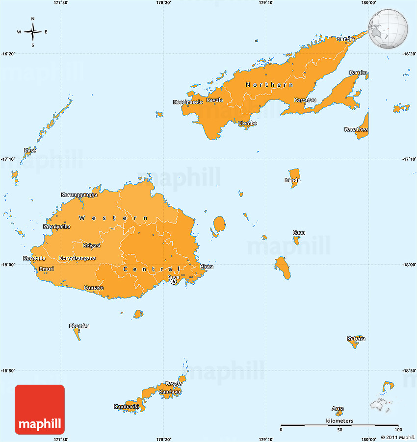 Political shades simple map of fiji gumiabroncs Gallery