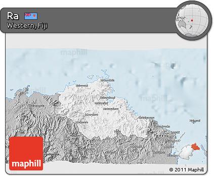 Gray 3D Map of Ra