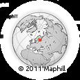 Outline Map of Etelä-Karjala