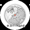 Outline Map of Satakunta