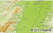 Physical 3D Map of Sélestat