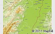Physical Map of Sélestat