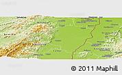 Physical Panoramic Map of Sélestat