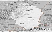 Gray Panoramic Map of Haut-Rhin