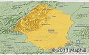 Savanna Style Panoramic Map of Haut-Rhin