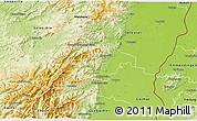 Physical 3D Map of Ribeauvillé
