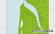 Physical Map of Lesparre-Médoc