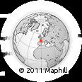 Outline Map of Lesparre-Médoc