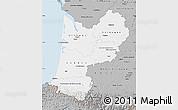 Gray Map of Aquitaine