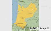 Savanna Style Map of Aquitaine
