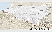 Classic Style 3D Map of Pyrénées-Atlantiques