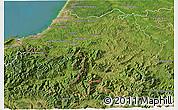 Satellite 3D Map of Bayonne