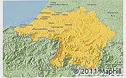 Savanna Style 3D Map of Bayonne