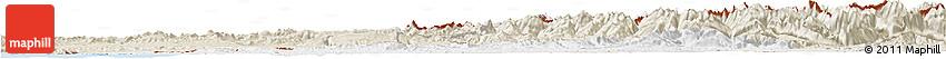 Classic Style Horizon Map of Pyrénées-Atlantiques