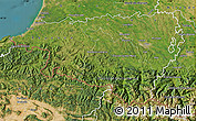 Satellite Map of Pyrénées-Atlantiques