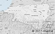 Silver Style Map of Pyrénées-Atlantiques