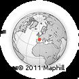 Outline Map of Pau