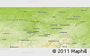 Physical Panoramic Map of Montluçon