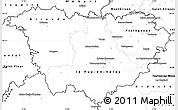 Blank Simple Map of Haute-Loire