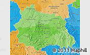 Political Shades Map of Puy-de-Dôme