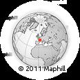 Outline Map of Riom