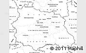 Blank Simple Map of Puy-de-Dôme