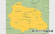 Savanna Style Simple Map of Puy-de-Dôme