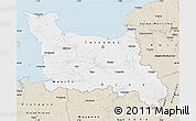 Classic Style Map of Basse-Normandie